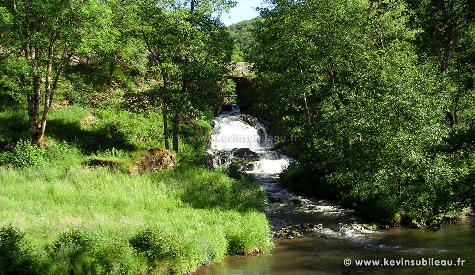 photo de la cascade de Montfermy