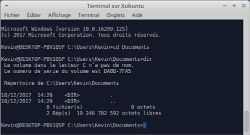 win10-ssh-connexion-Xubuntu